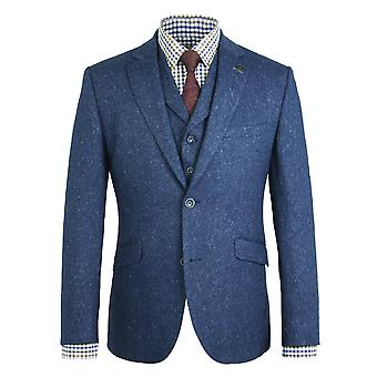 Gibson London Gibson London Blue Fleck Jacket