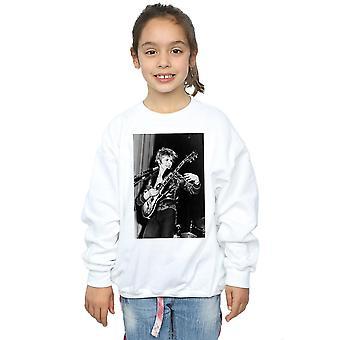 David Bowie jenter smilende gitar Sweatshirt