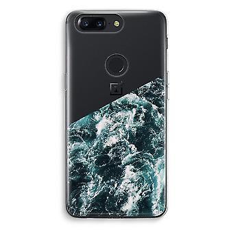 OnePlus 5T Transparent Case (Soft) - Ocean Wave