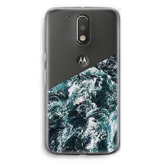 Motorola Moto G4/G4 Plus Transparent Case - Ocean Wave