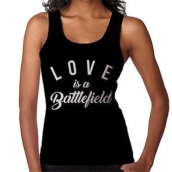 Liefde Is een slagveld lied lyrische vrouwen Vest