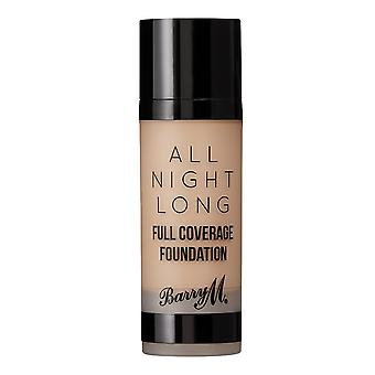Barry M All Night Long Full Coverage Foundation - Oatmeal