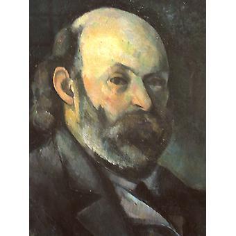 Self-portrait, Paul Cezanne, 50x40cm