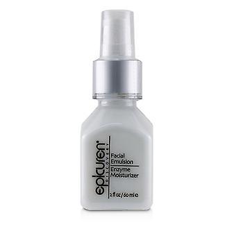 Epicuren Facial Emulsion Enzyme Moisturizer - For Normal & Combination Skin Types - 60ml/2oz
