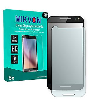 Motorola Moto X Style Screen Protector - Mikvon Clear (Retail Package with accessories) (reduced foil)