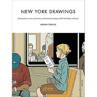 New York Drawings (Main) by Adrian Tomine - 9780571326914 Book