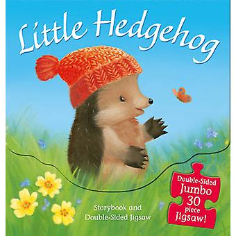 Little Hedgehog - Storybook and Double-Sided Jigsaw by M. Christina Bu