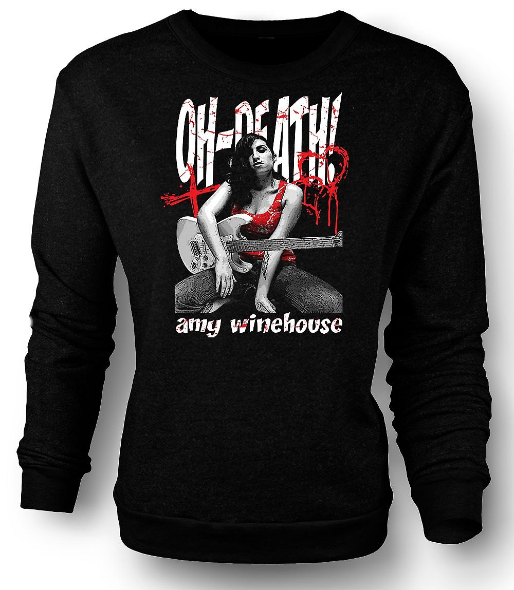 Mens Sweatshirt Amy Winehouse - Oh død