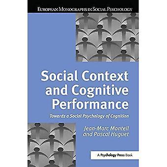 Socialt sammanhang och kognitiva prestanda