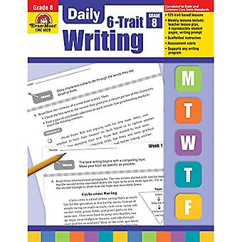 Dagliga 6-drag skrift, klass 8