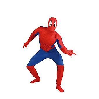 Costumes de déguisements de super-héros mens Spiderman