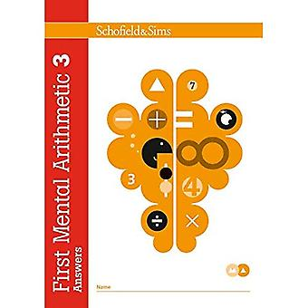 First Mental Arithmetic Answer Book 3 (of 6): Key Stage 1
