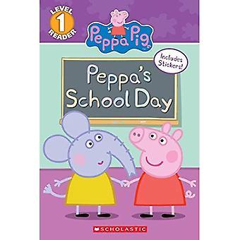 Peppa's School Day (Peppa Pig: Scholastic Reader, Level 1) (Peppa Pig)