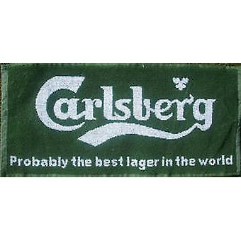 Carlsberg Lager Probably... Cotton Bar Towel  (pp)