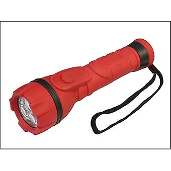 Lighthouse Rubber Torch 3 LED 2 x AA