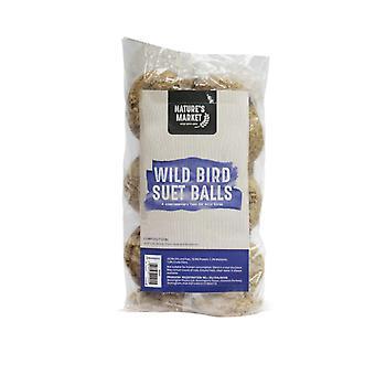 الطبيعة البرية سوق الطيور الدهون الشحم كرات تغذية الطيور البرية-6 حزمة--لا توجد شبكات