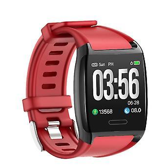 Zadaniem v2 bransoletka z kolorowym wyświetlaczem i heart rate monitor czerwony