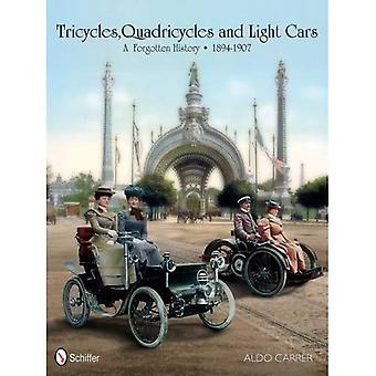 Tricycles, Quadricycles y carros ligeros 1894-1907