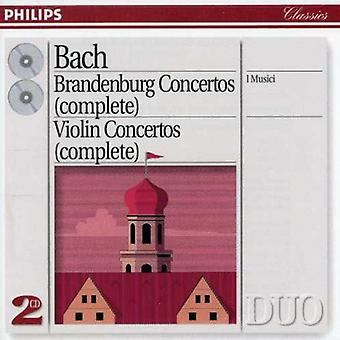 J.S. Bach - Bach : Concertos Brandebourgeois (complet) [CD] USA import