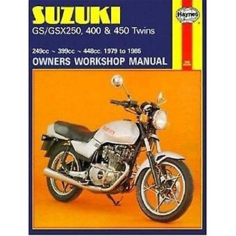 Suzuki GS and GSX 250 - 400 and 450 Twins Owners Workshop Manual by C