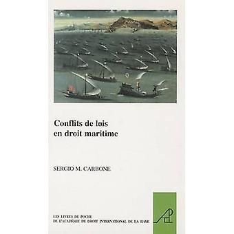 Conflits de Lois en Droit Maritime by Sergio M. Carbone - 97890041868