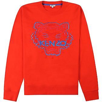 Kenzo Tiger Face Sweatshirt Blue