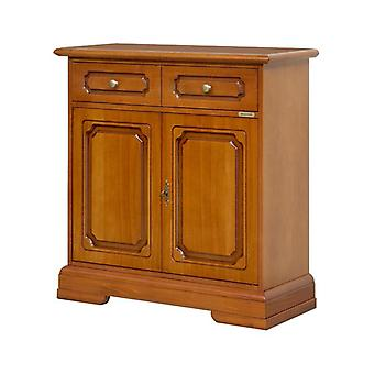 Classic Wooden Credenzina 2 Doors 1 Drawer