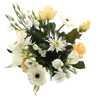 Botanicly - Bouquets | Bunch of Flowers Excellent white | Height: 55 cm