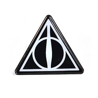Harry Potter Badge Enamel Deathly Hallows logo new Official Black