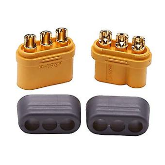 5 Pairs MR60 Male Female Bullet Connectors Plugs For RC Lipo Battery