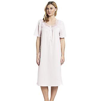 Feraud 3883174 Women's Cotton Lace Night Gown Loungewear Nightdress