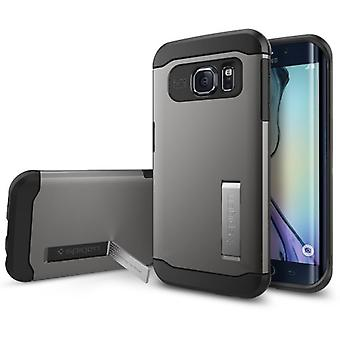 Spigen Samsung Galaxy S6 Edge Case Slim Armor Series Gunmetal