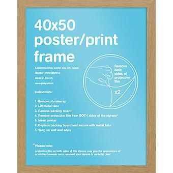 Eton Oak Frame Mini Poster / Print Frame
