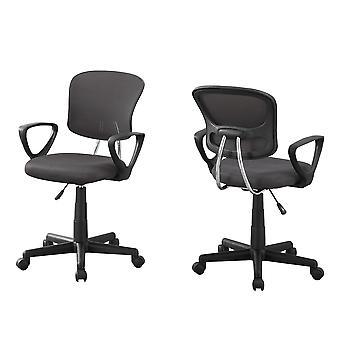 Office chair - grey mesh juvenile / multi position