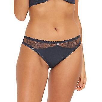 LingaDore 4220B-223 Women's Shimmer Midnight Blue Floral Brief
