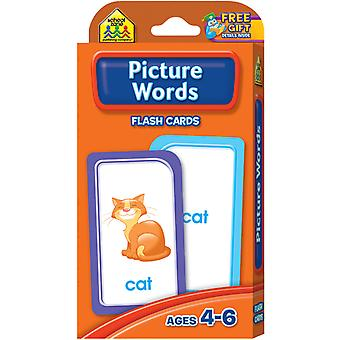 Flash Cards Picture Words 53 Pkg Szflc 4024