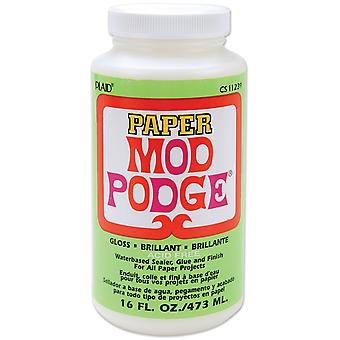 Mod Podge Paper Gloss Finish 16 Ounces Cs11239