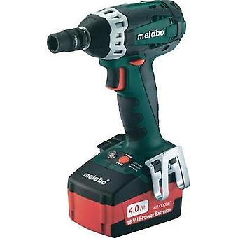 Metabo SSW 18 LT Cordless impact driver 18 V 4 Ah Li-ion incl. spare battery, incl. case