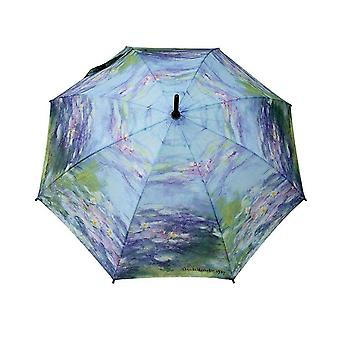 Umbrella stick umbrella motif Claude Monet water lilies