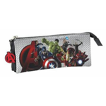 Safta Triple Portatodo The Avengers (Toys , School Zone , Pencil Case)