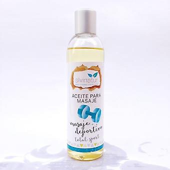 Alvinatur Sports massage Massage Oil, Total sport