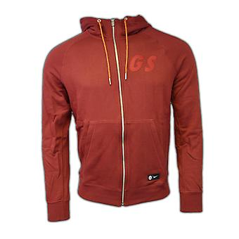 2016-2017 Galatasaray Nike Authentic Full Zip Hoody (rot)