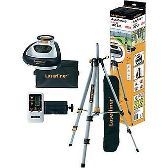 Laserliner AutoSmart Laser 100 Set Automatic Rotary Laser For Indoors and Outdoors