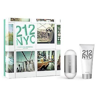 Carolina Herrera 212 60ml Eau De Toilette Vapo. + Body 100Ml