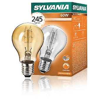 Sylvania Decorative Vintage A60 60W 230 / 240V E27