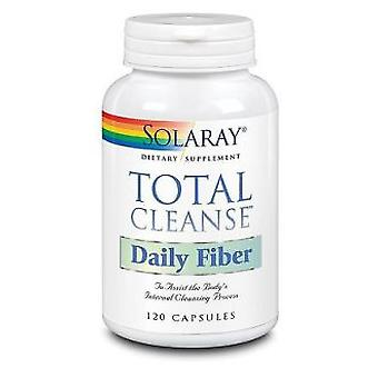 Solaray Total Cleanse Daily Fiber 120 Capsules