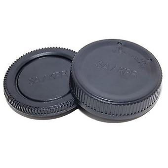Rear Lens & Camera Body Caps for any Sigma SA or KPR body or lens - Sigma SD1, SD1 Merrill, SD9, SD10, SD14, SD15 etc