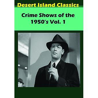 Crimen de espectáculos de la década de 1950 1 importación de USA [DVD]