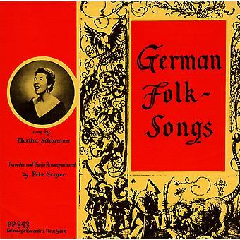 Martha Schlamme - import USA niemieckie pieśni ludowe [CD]