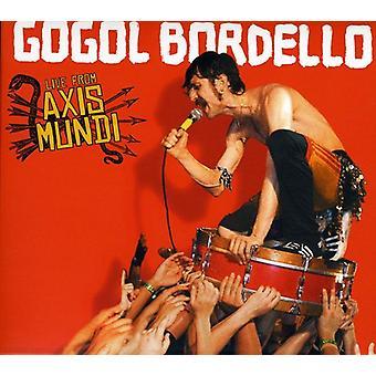 Gogol Bordello - Live fra Axis Mundi [CD] USA import
